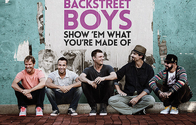 THE映画紹介『BACKSTREET BOYS: SHOW 'EM WHAT YOU'RE MADE OF』